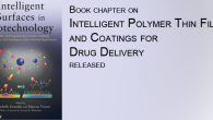 "In a book edited by H. Michelle Grandin and Marcus Textor, Alexander Zelikin and Brigitte Städler co-author a chapter on ""Intelligent Polymer Thin Films and Coatings for Drug Delivery""."