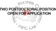 MPCL invites applications for 2 postdoctoral positions in prodrug design, macromolecular chemistry, materials science and engineering, and applied virology. This is an open end call and will be closed when […]