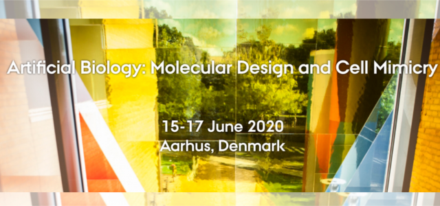 Join us at ArtBio2020, a conference on Artificial Biology that is being organized with collaboration of our group in Aarhus 15-17 June 2020. Artificial biology is an exciting, fundamental discipline […]